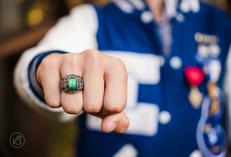 Senior Session class ring detail