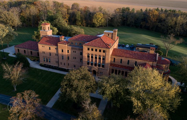 Aerial view of Nazareth Hall Grand Rapids Ohio