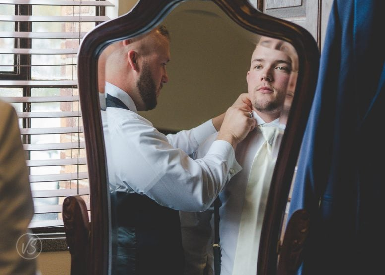 Groom and brother, best man