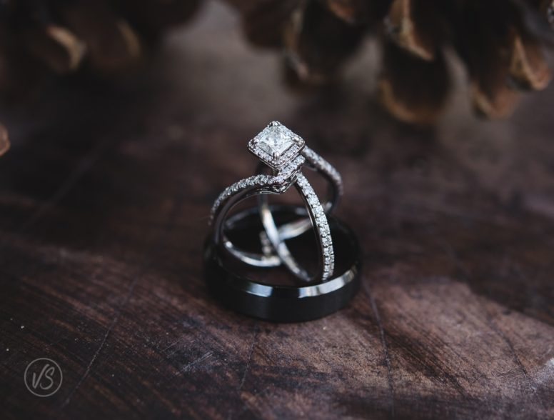 Joey and Taylor's Wedding Ring Details