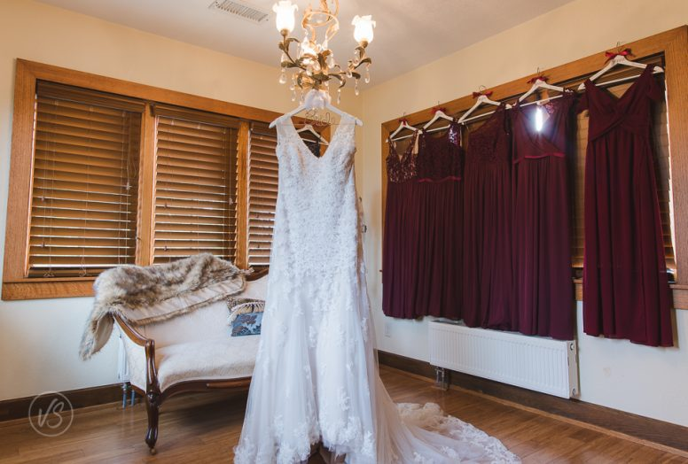Taylor's wedding dress details