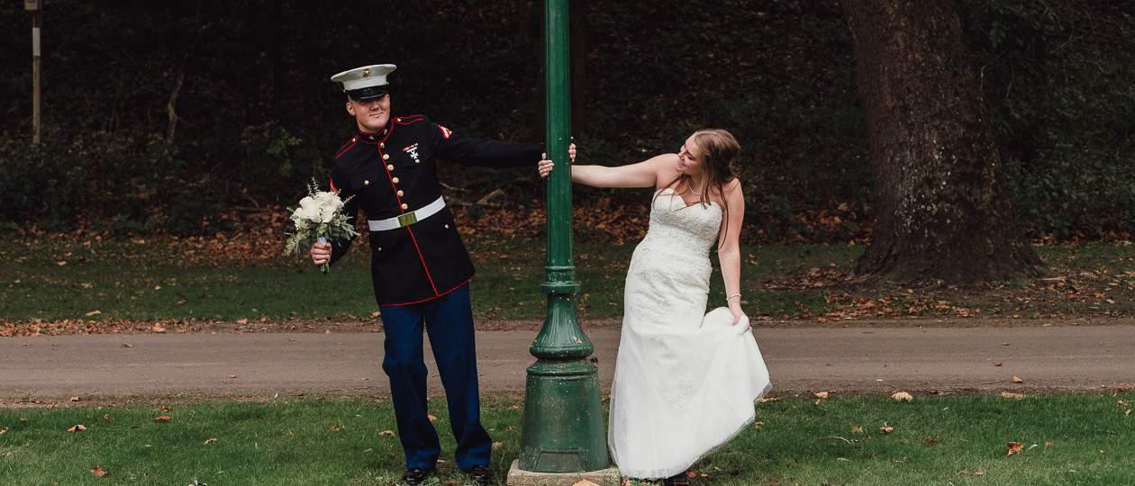 Makaylie and Brandon's fall wedding